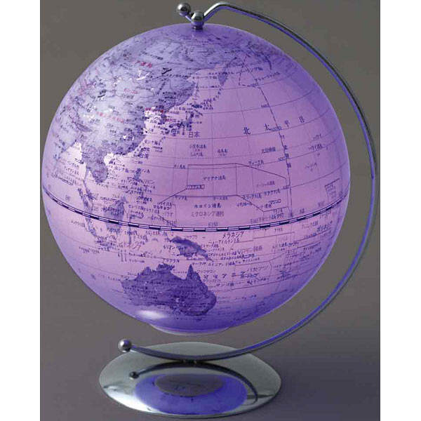 LEDカラー地球儀