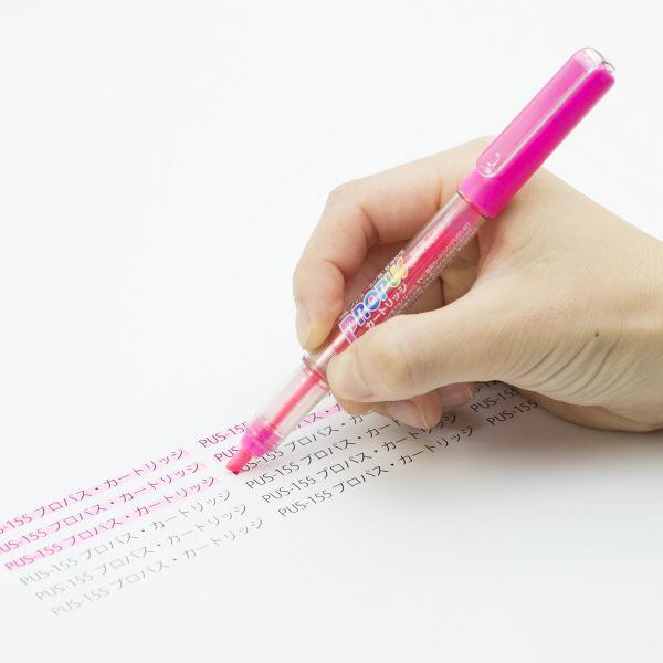 蛍光ペン プロパス ピンク 10本