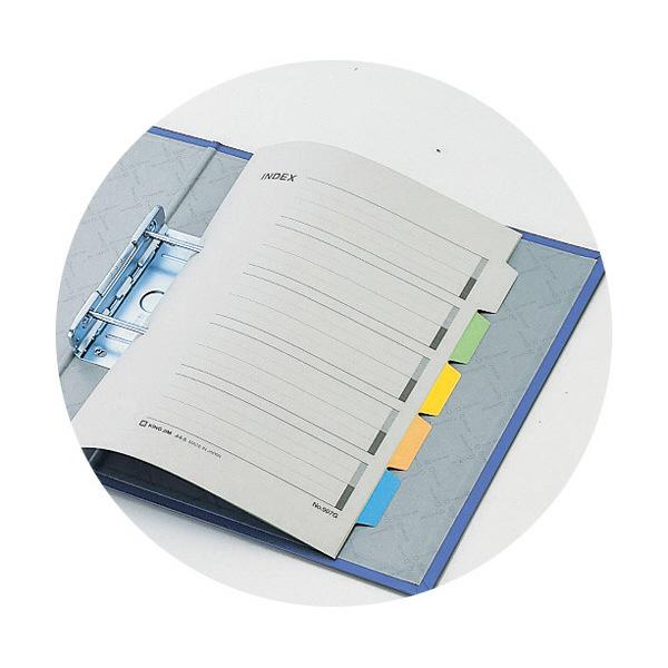 キングジム スーパードッチGXシリーズ A4タテ とじ厚50mm 10冊 青 キングジム 両開きパイプファイル 1475GXアオ