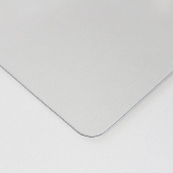プラス デスクマット OAタイプ 特大(1590×690mm) 厚さ1.8mm 下敷きなし