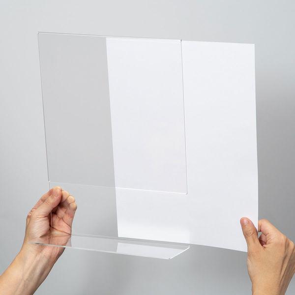 片面用(L型)カード立て A4縦 10個