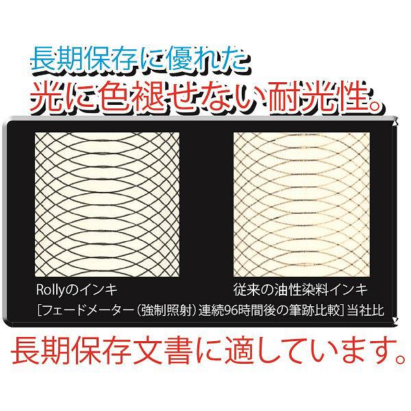 ぺんてる ノック式油性ボールペンRolly(ローリー) 0.7mm 青 1本