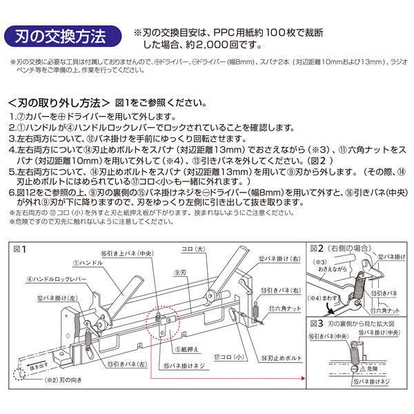 プラス 断裁機替刃 PK-512H (直送品)