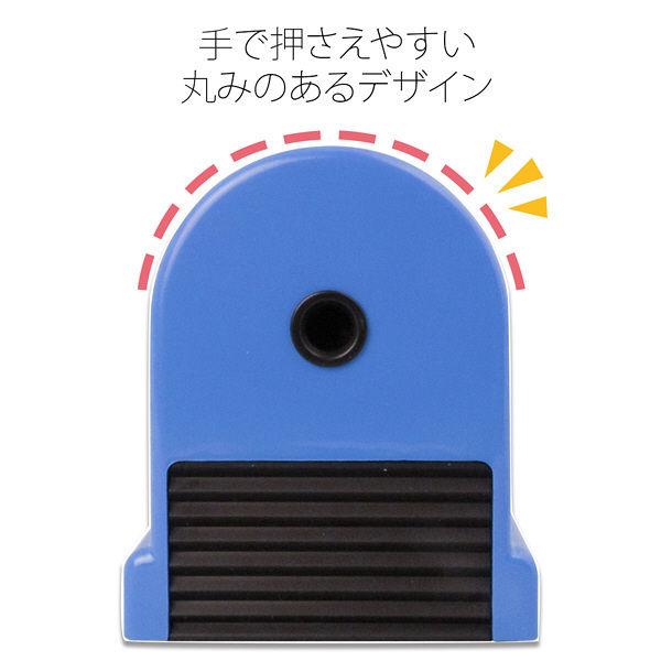 プラス W・P鉛筆削り 青 WP-130N BL (直送品)