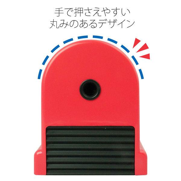 プラス W・P鉛筆削り 赤 WP-130N RD (直送品)