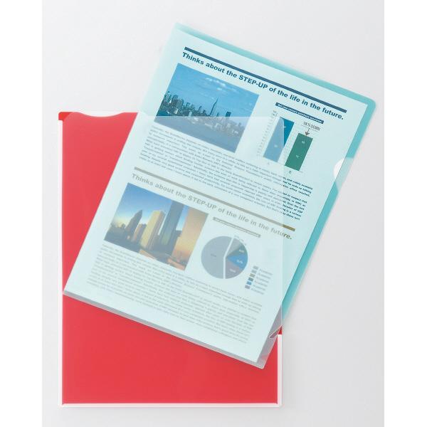 キングジム スーパーハードホルダー5山インデックス透明 A4タテマチ付 5山インデックス 白 766Tシロ 1セット(20枚:5枚入×4)