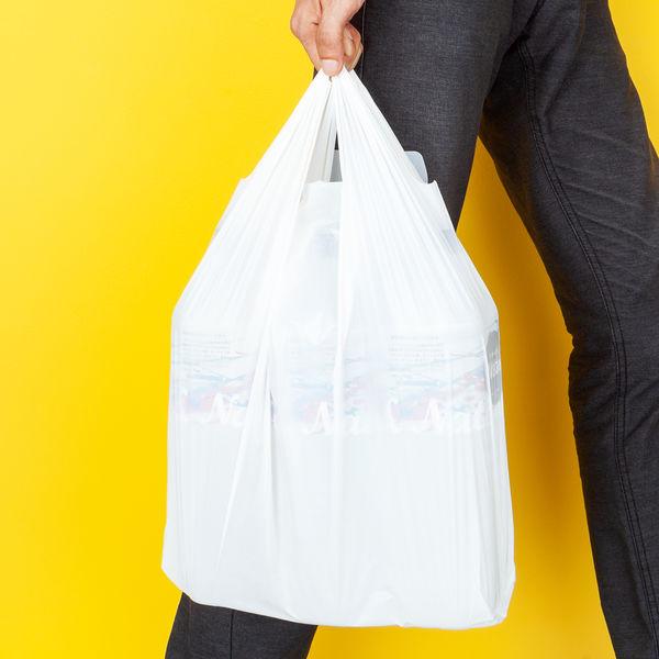 レジ袋 乳白 45号 6000枚