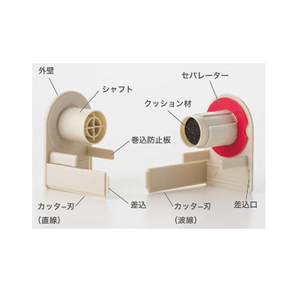【ロールふせん】gノート ロールズ25 イエロー×ピンク 1セット(3個) プリントインフォームジャパン
