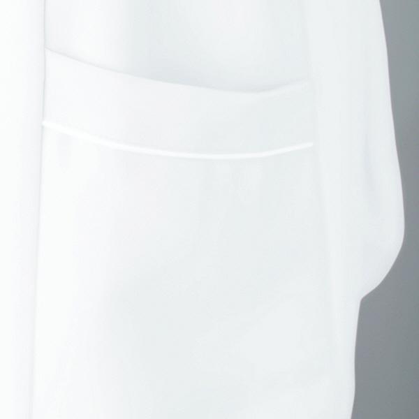 アイトス ナースジャケット(パイピング) 861338-007 サックス M