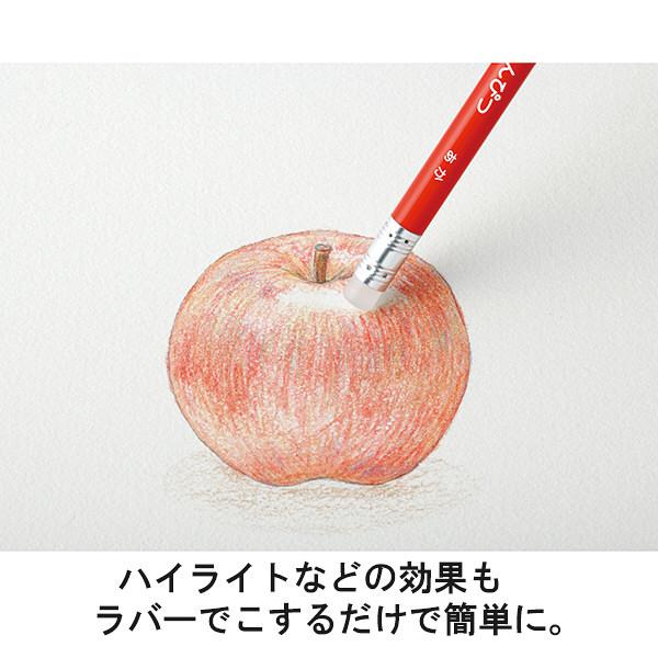フリクション色鉛筆 12色 ピンク