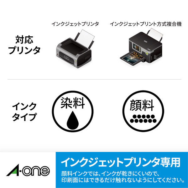 エーワン インクジェットプリンタラベルVHS用 12面 28856  1セット:1袋(5シート入)×5袋 (取寄品)