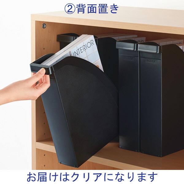 エセルテジャパン ライツ マガジンファイル クリア A4 2476-00-03 1セット(4個:1個×4)