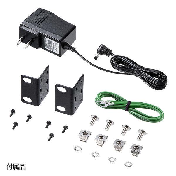サンワサプライ HDMI切替器(4入力2出力・分配器機能付き) SW-HD42ASP 1個 (直送品)