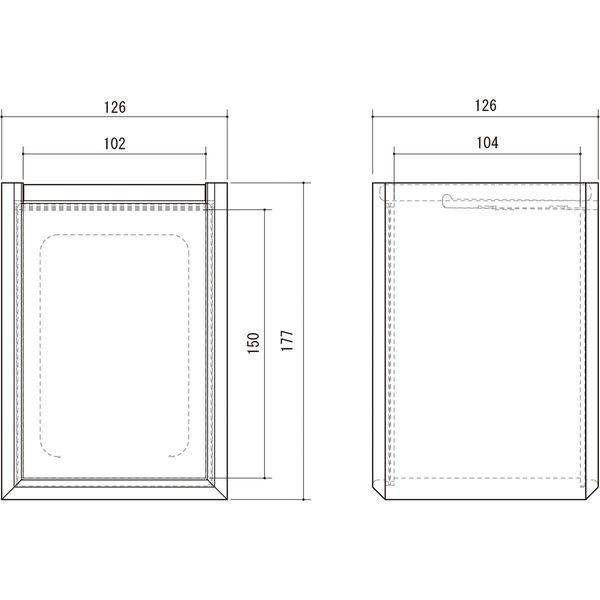 朝日木材加工 ペット仏壇 クロシェ 幅126×奥行126×高さ177mm ナチュラル CLP-1813BX-NA 1個(直送品)