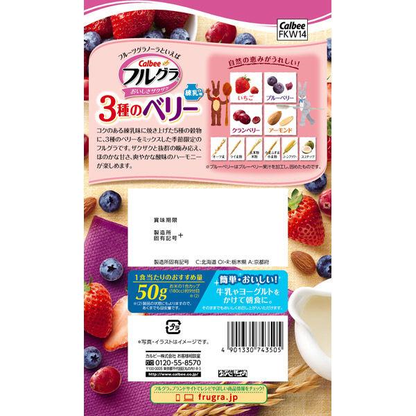 フルグラ3種のベリー練乳味450g 2袋