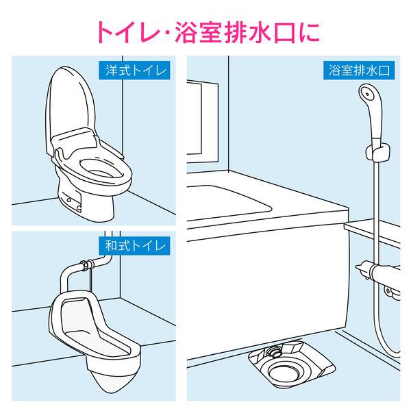 これカモ 真空式パイプクリーナー フルセット (トイレ 浴室排水口 洗面台 流し台 エアコンドレンホース つまり解消) GA-KK005 (直送品)