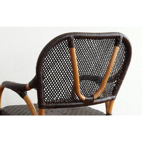 ラタン手編みチェア