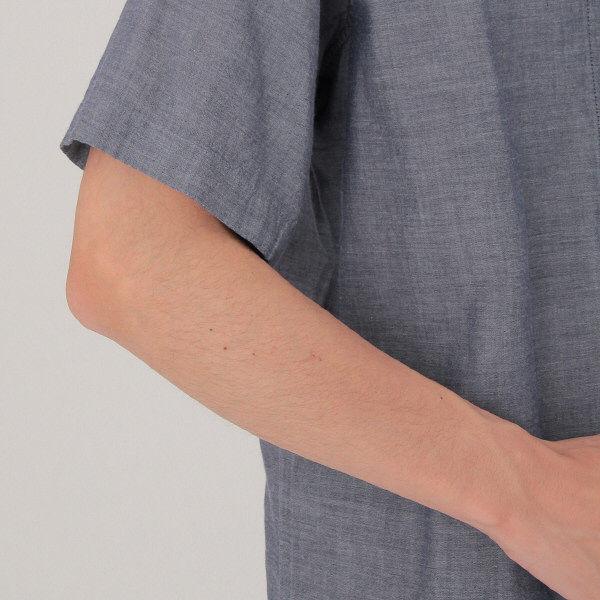 無印 二重ガーゼ半袖パジャマ 紳士 M