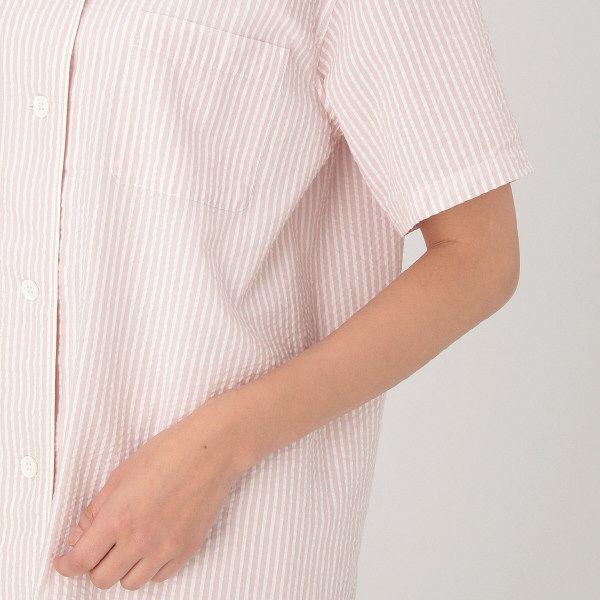 無印 脇に縫い目のない半袖パジャマ婦人L