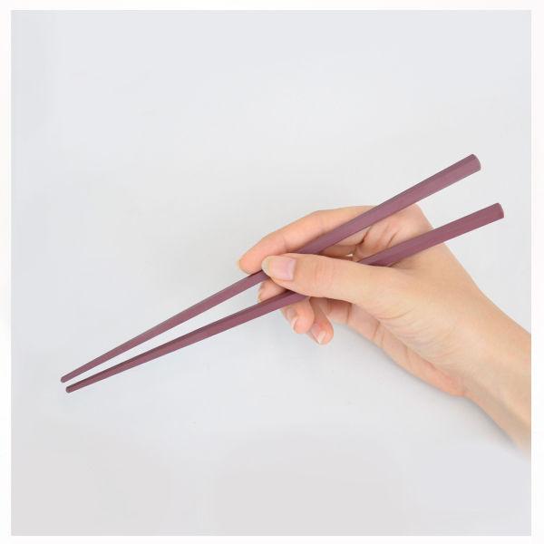 六角形で持ちやすい箸23cm10膳