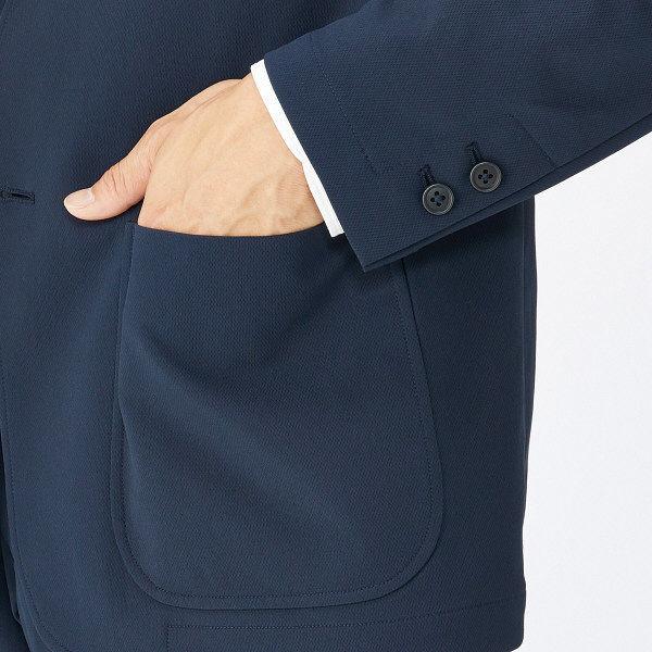 無印 ポリエステルジャケット 紳士 L