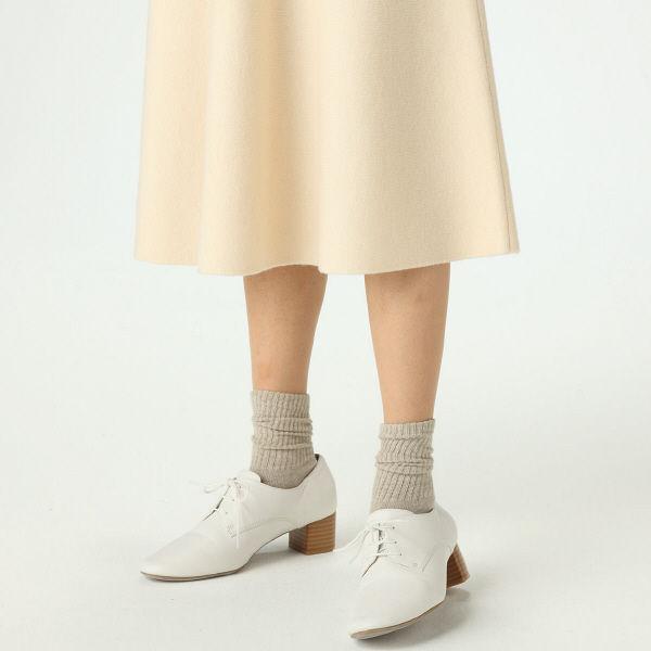 無印 Wフェイスフレアースカート 婦人L