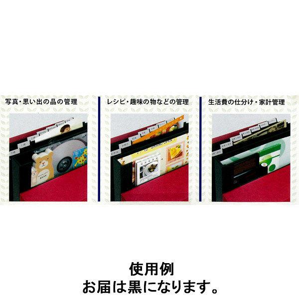 ドキュメントファイル B6 黒