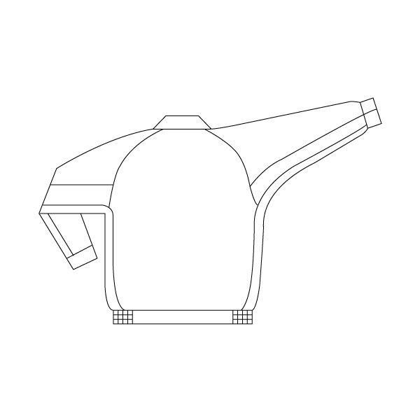 ミドリ安全 ブルゾン RC190 上 アイボリー 3L  1着(直送品)