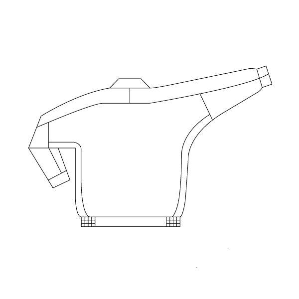 ミドリ安全 男女共用ブルゾン RC110 上 アイボリー 4L  1着(直送品)