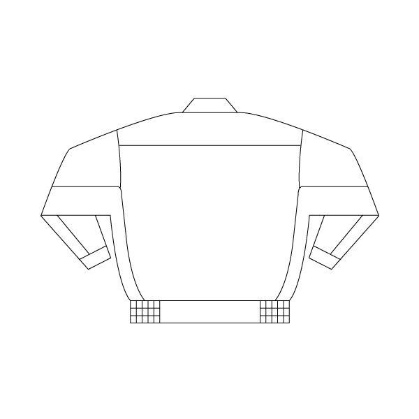 ミドリ安全 男女共用ブルゾン RC541 上 シルバーグレー 3L 1着(直送品)