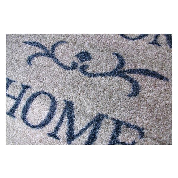 クリーンテックス ジャパン wash+dry薄型で丈夫な洗える玄関マット Welcome Home beige 50×75cm 1枚 [6027]