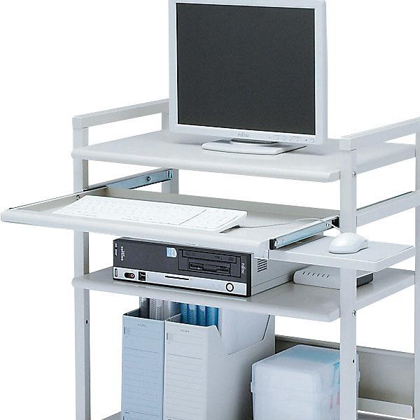 サンワサプライ スチール製パソコンラック RAC-EC6SN2 (直送品)