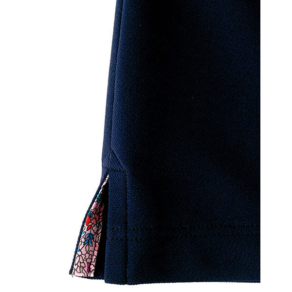 【メーカーカタログ】ボンマックス メンズ吸水速乾ポロシャツ(花柄B) ネイビー 3L FB5025M 1枚 (直送品)