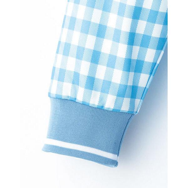 【メーカーカタログ】ボンマックス チェックプリントポロシャツ(長袖) オレンジ 3L FB4536U 1枚 (直送品)