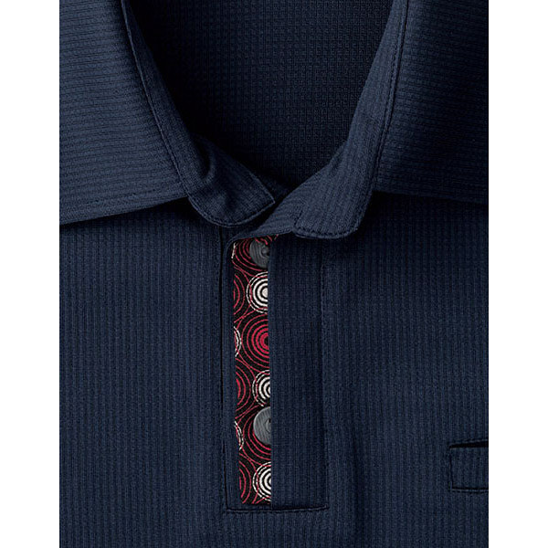【メーカーカタログ】ボンマックス 和ニットポロシャツ ネイビー SS FB4532U 1枚 (直送品)