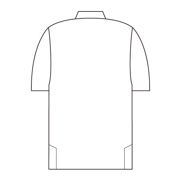 住商モンブラン レディスニットシャツ オフ白×アメリピンク 3L LW202-12 (直送品)