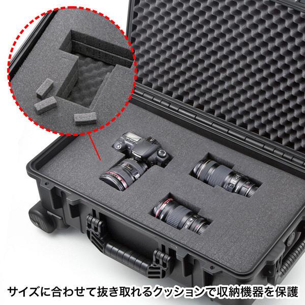 サンワサプライ ハードツールケース(キャリータイプ) W350×D225×H560mm BAG-HD3 1個 (直送品)