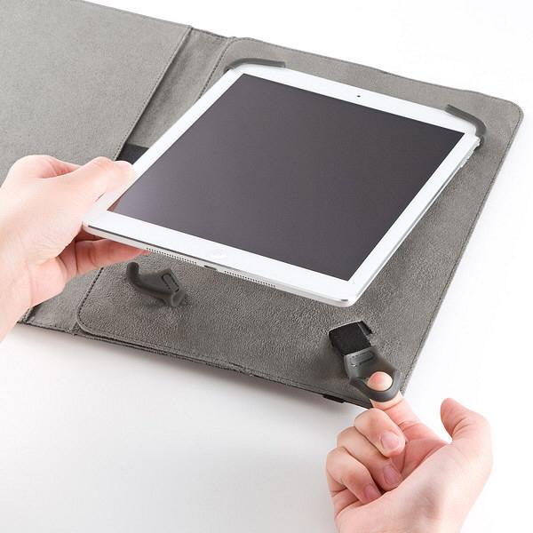 サンワサプライ タブレットマルチサイズケース(10型) PDA-TABFB10BK (直送品)