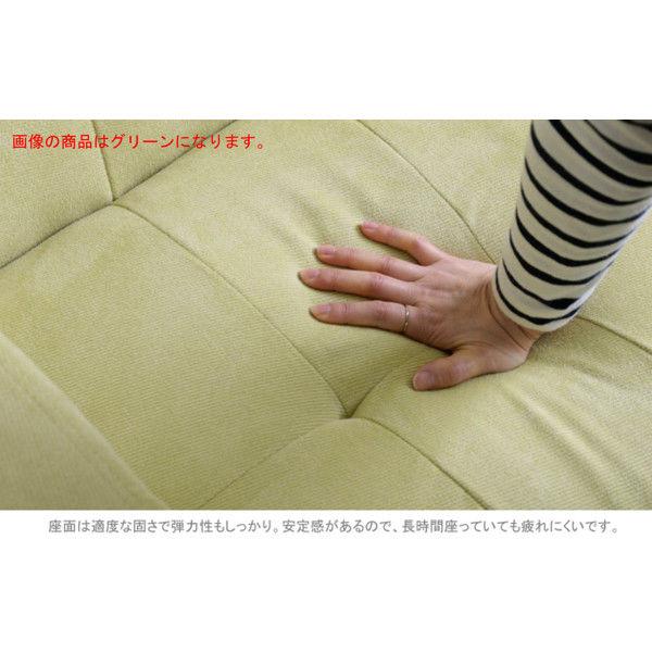 佐藤産業 OLGA(オルガ)ソファ 2人掛け グリーン OLGA_GR 1脚 (直送品)