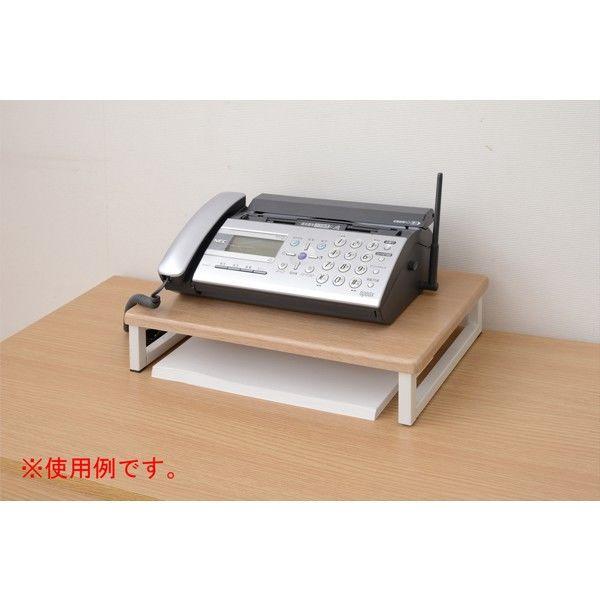 YAMAZEN モニタースタンド 幅390×奥行250×高さ85mm ナチュラル/アイボリー DTS-3925(NA/IV) 1台 (直送品)