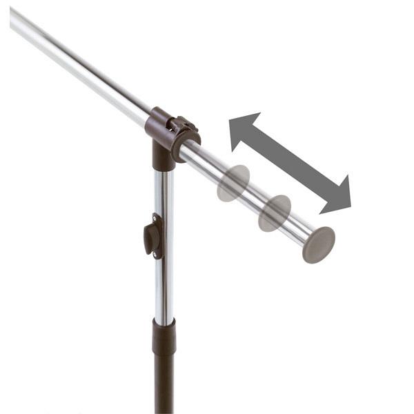 ルミナス ハンガーラック プッシュ式ハンガー「シングルプラス」 瞬間上げ下げ キャスター付 幅調整可能80-130cmGPH-80PSG 1台 (直送品)