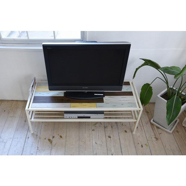 B.Bファニシング CHROME テレビ台 CHTB-120 幅1200×奥行439×高さ390mm 1台 (直送品)