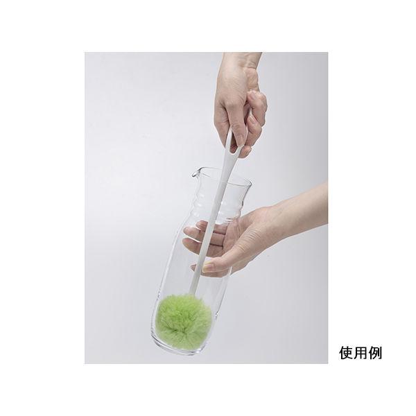 サンコー(SANKO) ブラシ ピカピカ冷水筒・ボトル洗い用 グリーン BL-45 1セット(5本) 8-9134-01(直送品)