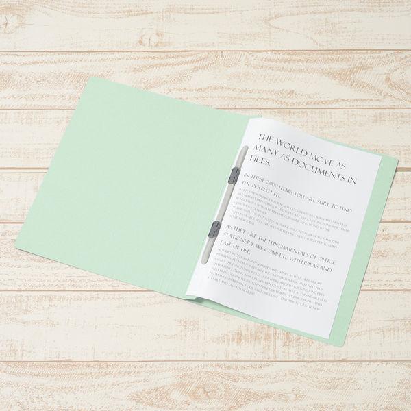 プラス PPフラットファイルA4S厚とじBL 98345 (直送品)