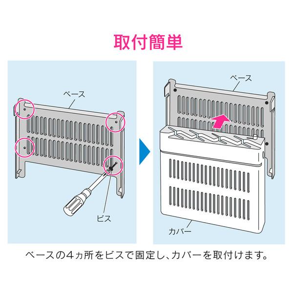 ガオナ 包丁差し 包丁ケース (チャイルドロック付き 4本収納 取付簡単) GA-PF004 (直送品)