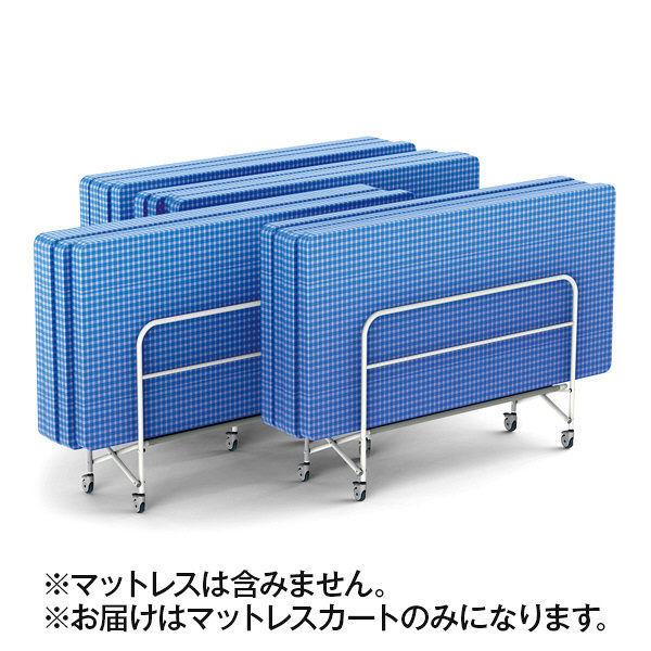 河淳 FDマットレスカート グレー MCR048GM (直送品)
