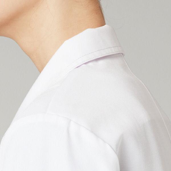 フォーク CHEROKEE(チェロキー) 医療白衣 レディスシングルコート CH450 ホワイト S 1枚 (直送品)