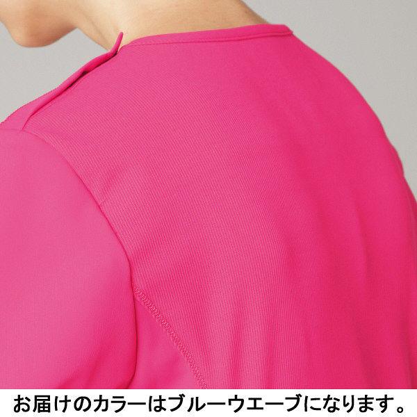 フォーク CHEROKEE(チェロキー) 医療白衣 スクラブ CH751 ブルーウエーブ LL 1枚 (直送品)