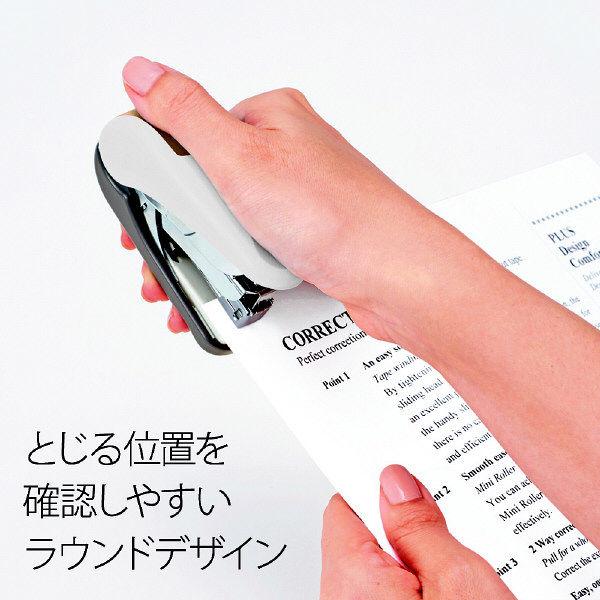 プラス フラットかるヒット32枚針付 ホワイト ST-010VNH  1セット(1個) (直送品)