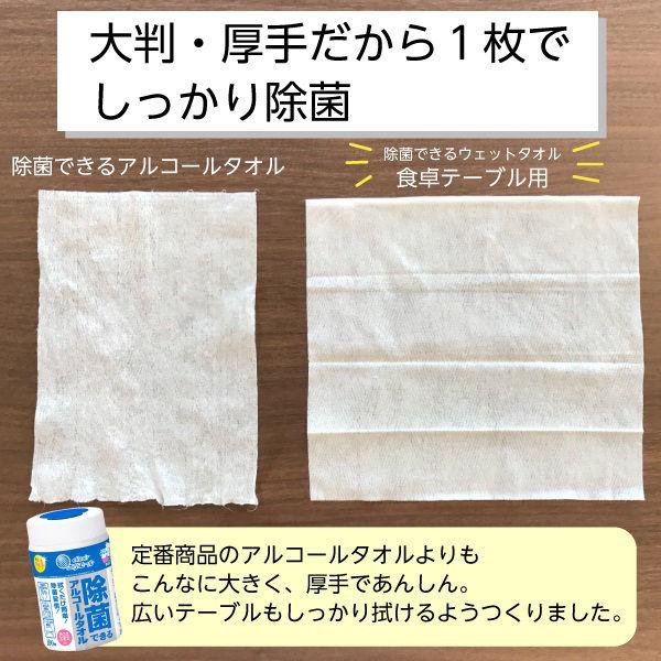 ロハコ限定 除菌できるウェットタオル